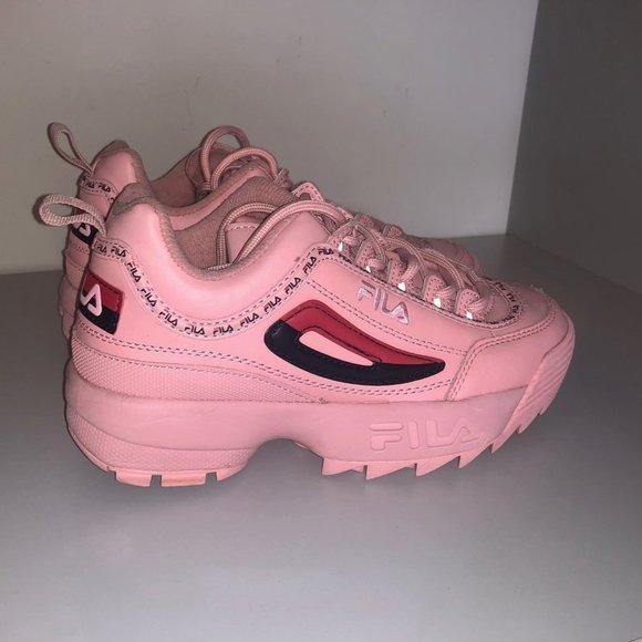 fila all pink